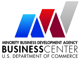 U.S. Department of Commerce Minority Business Development Agency Business Center logo