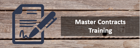 Master Contracts: Training for all those who make purchases on behalf of Washington State.