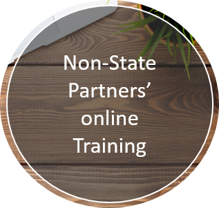 Non-State Partners' online Training Link