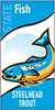 Thumbnail of state fish (steelhead trout) banner