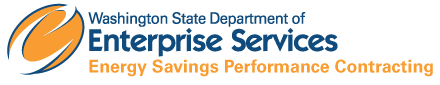 Energy Savings Performance Contracting logo, a service provided by DES