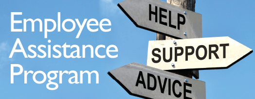 Employee Assistance Program sign post
